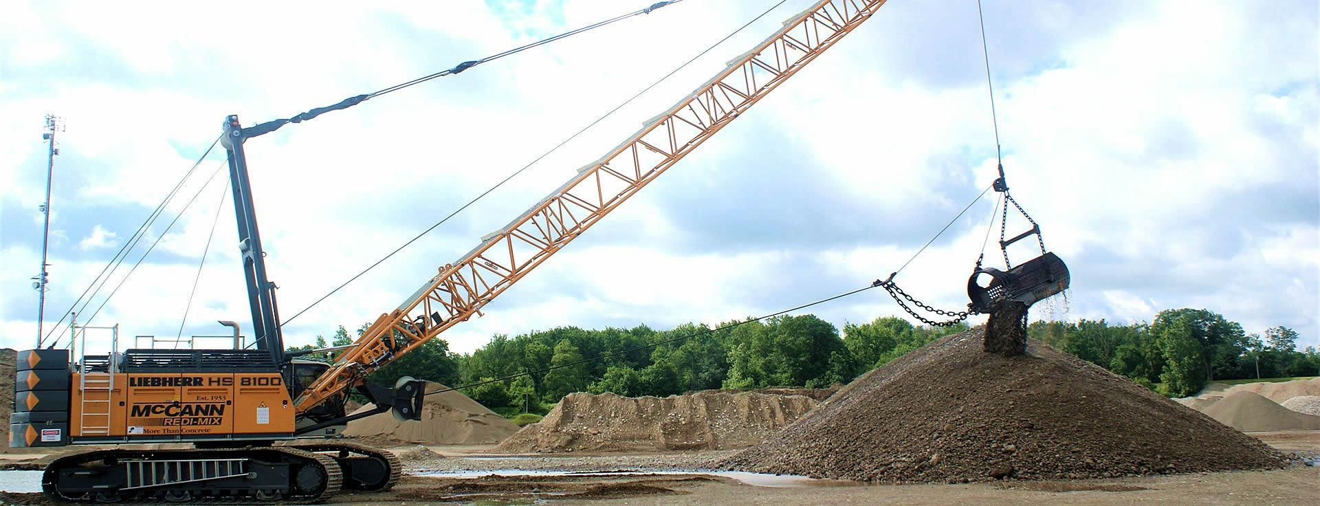 Dragline Moving Aggregate (improved)