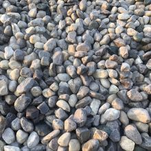 "O Stone<br>Round stone primarily 4"" in size.  Used for drainage and landscaping purposes."